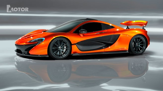 McLaren's dramatic P1 launches in late 2013