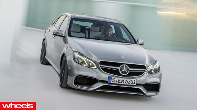 Mercedes-Benz new E 63 AMG Saloon and Estate, 2013