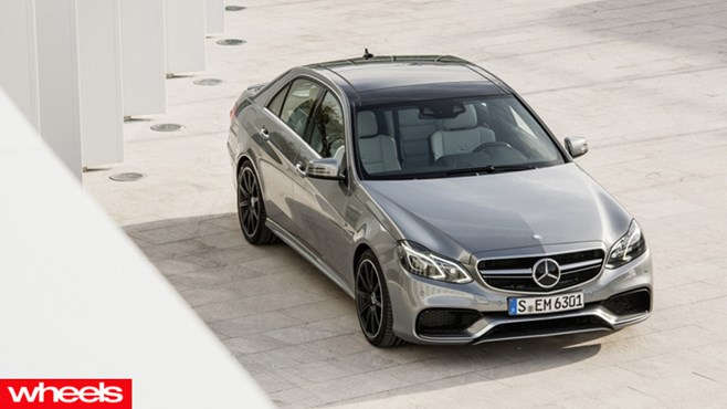 wheels magazine, Mercedes-Benz new E 63 AMG Saloon and Estate, 2013