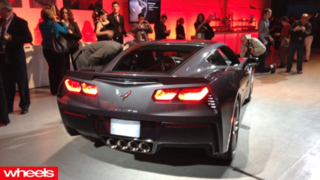 New Corvette Stingray revealed