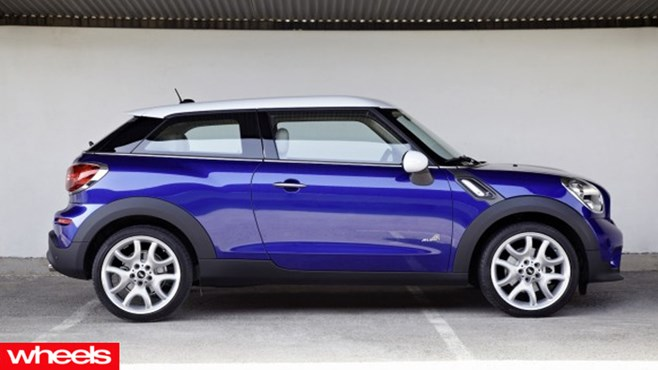 Wheels Review: Mini Paceman