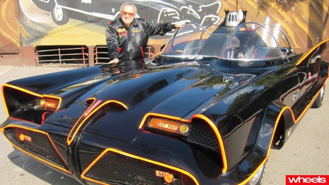 original batmobile pictures, movie, car, auction, sells, wheels, magazine, review, price