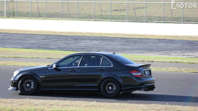 Awesome modified AMG C63