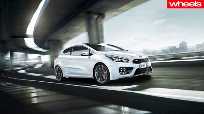 Kia, GT, Cee'd, sport, hot, hatch, Wheels, price, best