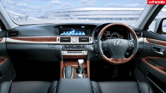 Review: Lexus LS600h F Sport, 2013, wheels, magazine, review, price