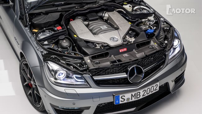 Upgraded 6.2-litre, naturally-aspirated V8