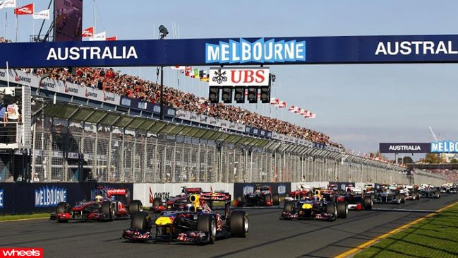 Formula 1, great ocean road, melbourne, grand prix, Mark Webber