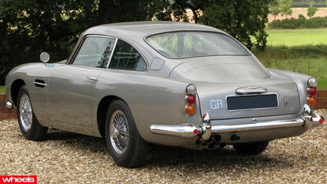 James Bond, 007, Aston Martin, DB5, for sale, Europe, Wheels magazine