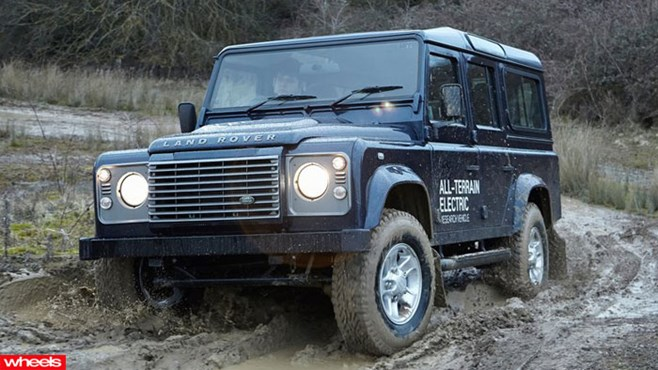 Land Rover, Defender, electric, Geneva Motor Show, Hybrid, hot, review, price, interior, wheels magazine, 2013