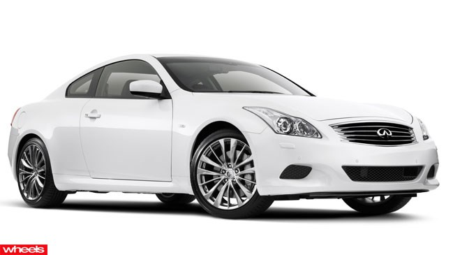 Review: Infiniti, G37, Red Bull Racing, Wheels magazine, new, fast