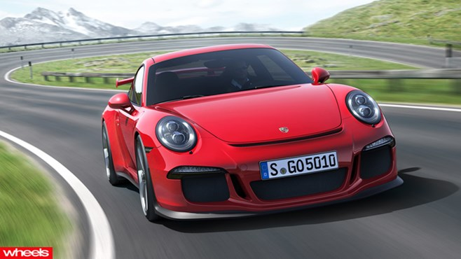 Geneva Motor Show, 991-series 911 GT3, Porsche 911 GT3 revealed, wheels magazine, 2013
