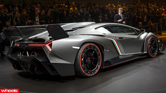 Geneva Motor Show, Lamborghini Veneno, revealed, wheels magazine, 2013