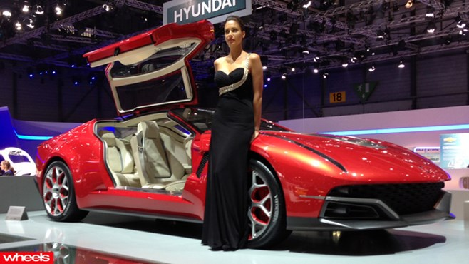 girls, 2013, weird, wacky, strange, pictures, video, price, Geneva Motor Show, 2013, Geneva auto Show 2013, best cars, concepts, cool, new, revealed, wheels magazine, 2013