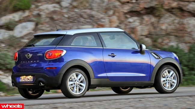 Review: Mini PAceman, brisbane, countryman, why, confused, Wheels magazine, new, fast