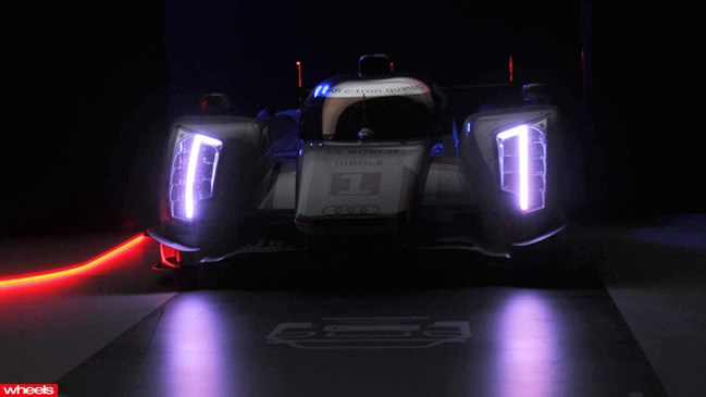 Audi, Le Mans, R18, Etron, Hybird, race car, road, wheels, future, 2013, Geneva, Motor, Show