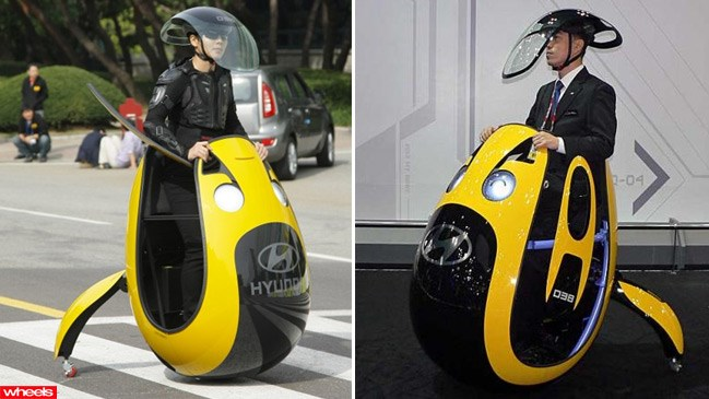 Hyundai E4U Concept 2013, egg car, video