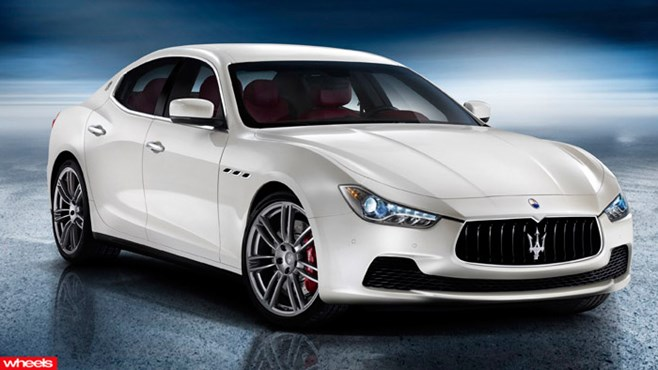 Maserati's compact four door breaks cover