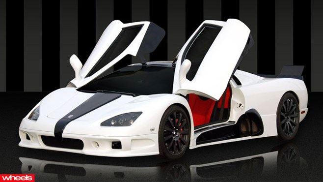 SSC ultimate aero, world, fastest, production, car, Bugatti, Veyron, Super Sport