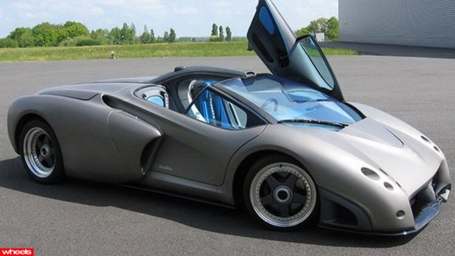 Rare Lamborghini to sell for $2 million, It's called the Pregunta, and despite sounding like its pregnant (Pregunta actually means 'question' in Spanish), it's extremely rare.