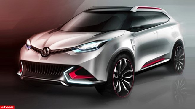 MG is tipped to reveal a SUV rival for the Nissan Duke at the Shanghai Motor Show later this month.