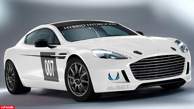 Aston Martin Hybrid Hydrogen Rapide S, Nurburgring 24 Hours