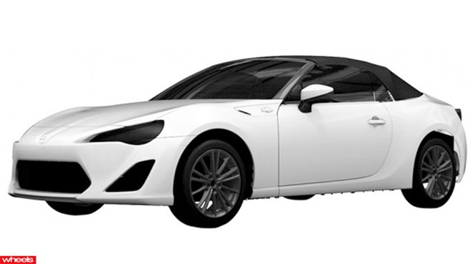 Toyota 86 shows soft top, convertible, release date, price, concept, review, australia