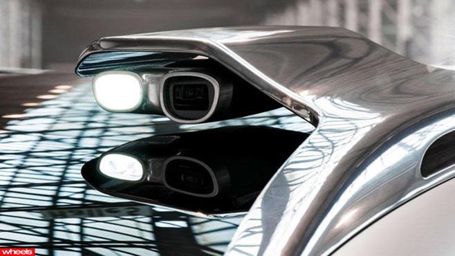 GLA concept, Merecedes-Benz, projector, movie, Merc's new SUV is a portable cinema