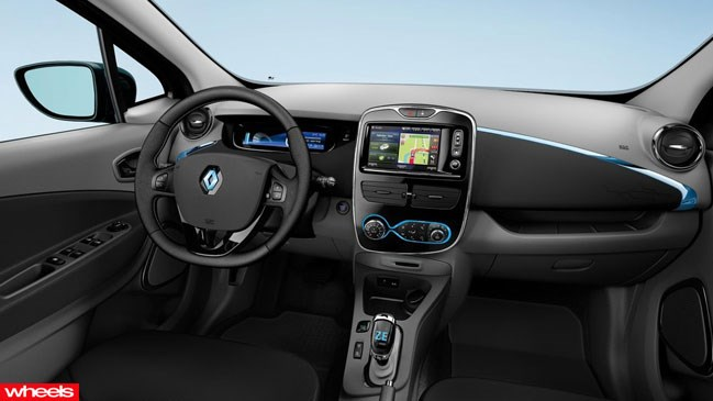Review: Renault Zoe, Limited Edition, Wheels magazine, new, interior, price, pictures, video