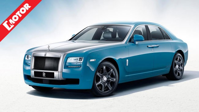 Rolls-Royce Ghost, Austria Alpine Trials, Motor magazine