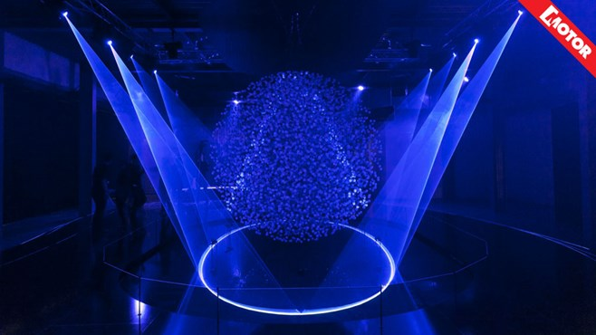 Milan Design Week, Hyundai Fluidic Sculpture in Motion, Motor magazine