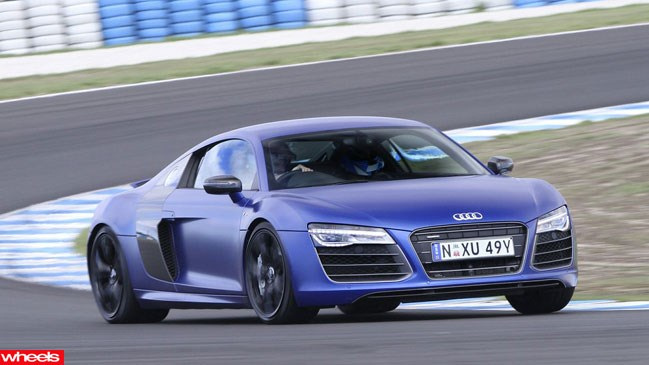 Review: Audi R8, Limited Edition, Wheels magazine, new, interior, price, pictures, video