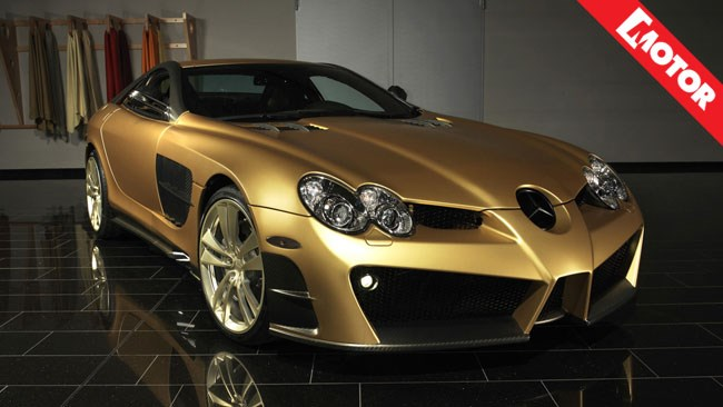 Golden Dreams, Mansory, Motor magazine, gold iPhone5, BaselWorld 2013