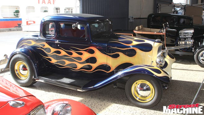 THE great state of Tasmania has been without a big indoor car show for the last few years, so the blokes from the Early Ford Club stepped up and staged their own at Hobart's Princess Warf complex in April.
