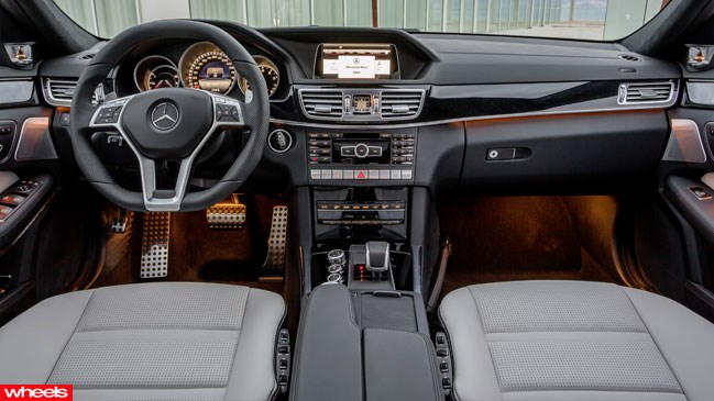 Review: Mercedes-Benz E63 AMG, Limited Edition, Wheels magazine, new, interior, price, pictures, video