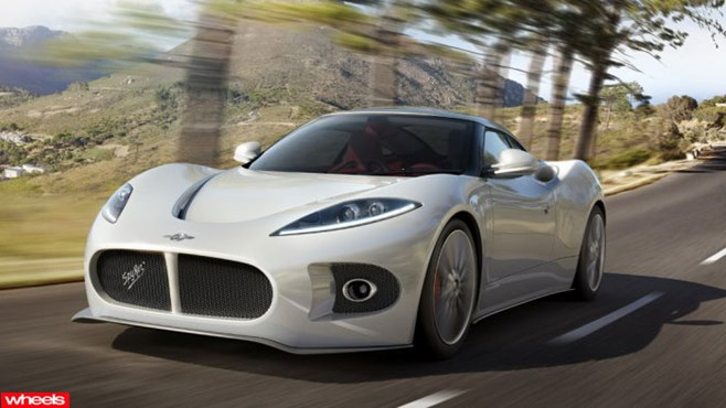 Spyker, Venator, B6, spyder, Limited Edition, Wheels magazine, new, interior, price, pictures, video