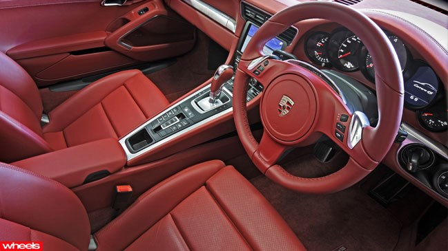 Review: Porsche 911 C4S, Wheels magazine, new, interior, price, pictures, video