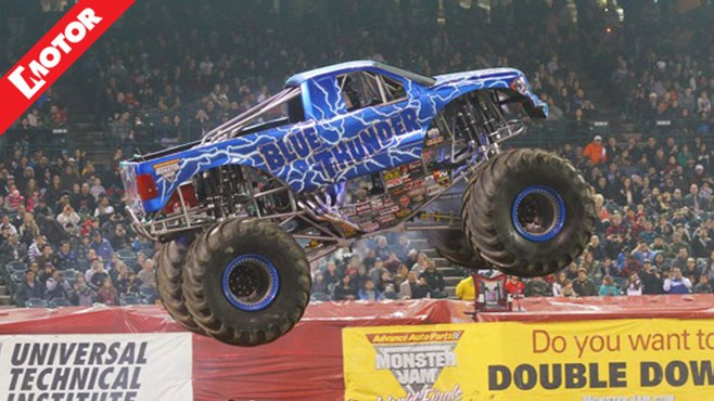 Monster Jam Sydney, Grave Digger, Maximum Destruction, MOTOR magazine