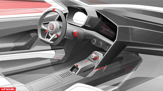 Volkswagen, VW, concept, Vision, Design, Ferrari, Porsche, Europe, Limited Edition, Wheels magazine, new, interior, price, pictures, video