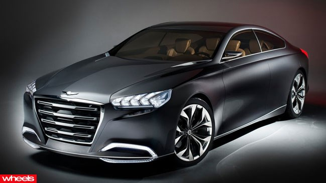 Hyundai, Genesis, coming, Australia, exclusive, images, Edition, Wheels magazine, new, interior, price, pictures, video