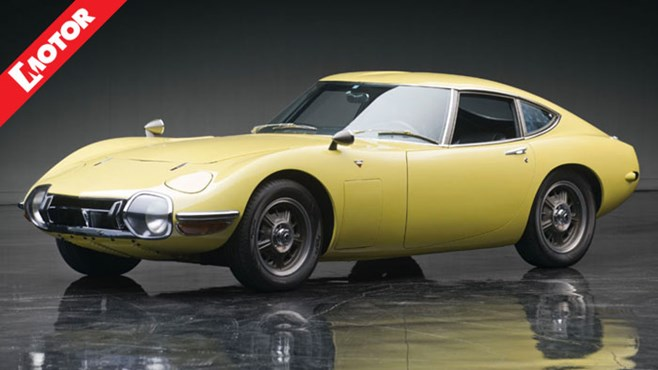Toyota 2000GT, RM Auctions Toyota 2000GT, MOTOR magazine