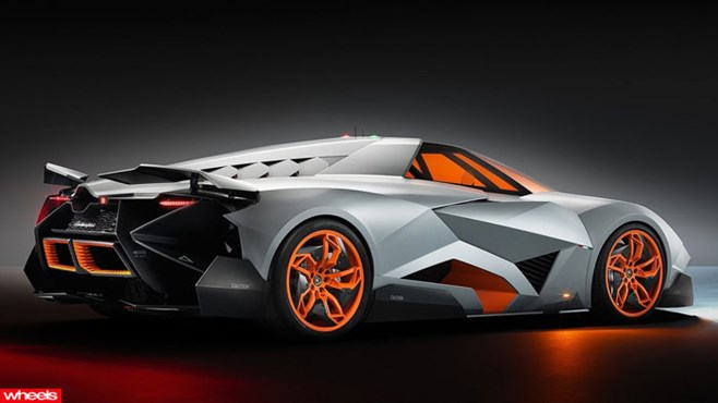 Lamborghini, Egoista, concept, craziest, ever, Ferrari, Porsche, Europe, Limited Edition, Wheels magazine, new, interior, price, pictures, video