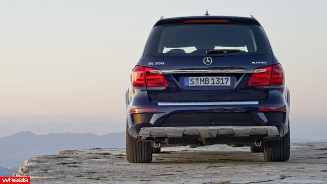 Review: Mercedes-Benz, GL350, Wheels magazine, new, interior, price, pictures, video
