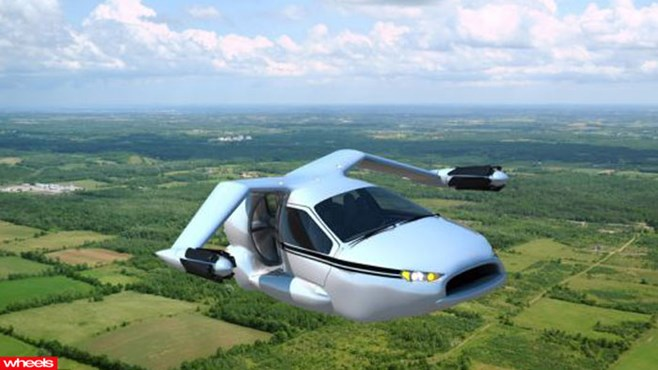 The flying car of the future