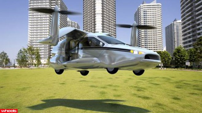 flying car, crash, future, Ferrari, Porsche, Europe, Limited Edition, Wheels magazine, new, interior, price, pictures, video