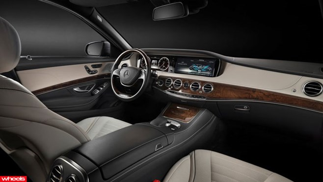 New, Mercedes-Benz, S-Class, limo, luxury, Rolls-Royce,, most, powerful, Porsche, Europe, Limited Edition, Wheels magazine, new, interior, price, pictures, video