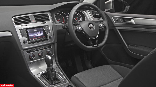 Review: Volkswagen Golf 90TSI, Wheels magazine, new, interior, price, pictures, video