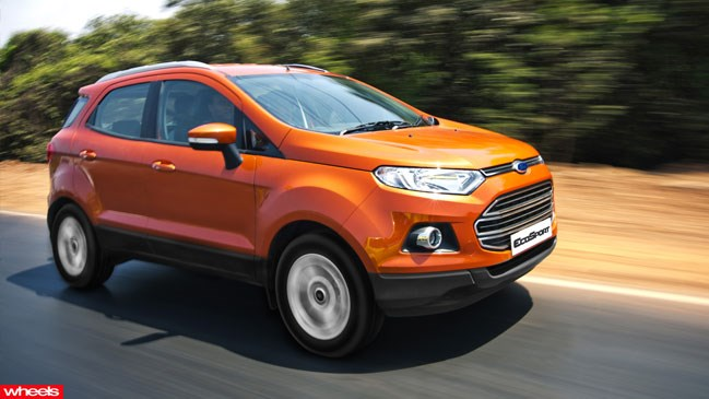 Review: Ford EcoSport, Wheels magazine, new, interior, price, pictures, video