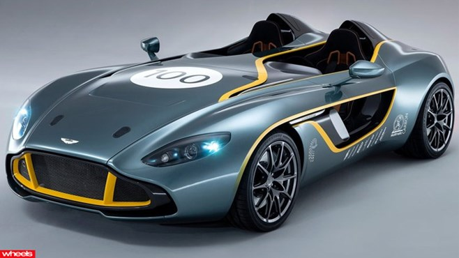 Meet Aston Martin's wild 100th birthday present to itself - the CC100 concept.