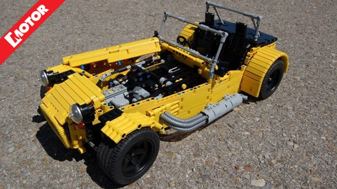 Caterham 7 LEGO, Sheepo Caterham, Sheepo LEGO, LEGO, MOTOR magazine