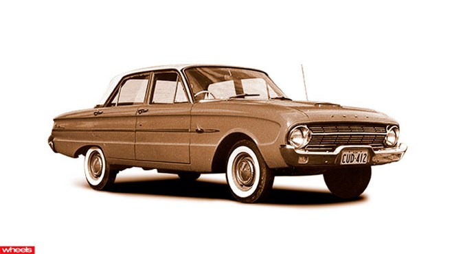 ford falcon, 1962 XL